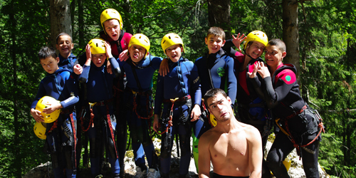 mini-camp escapade canyoning